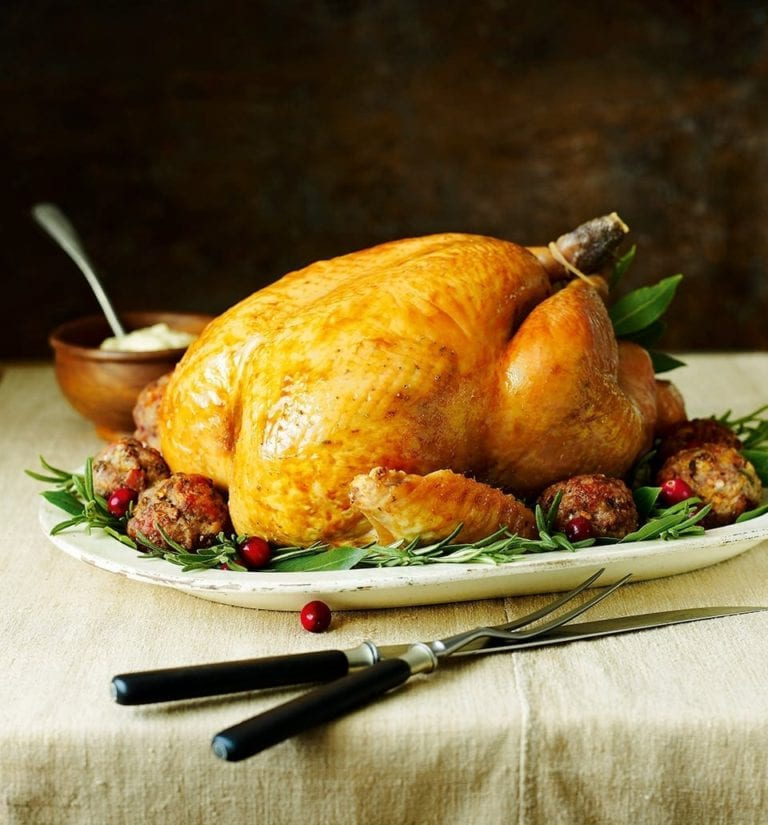 Classic (and easy) roast turkey