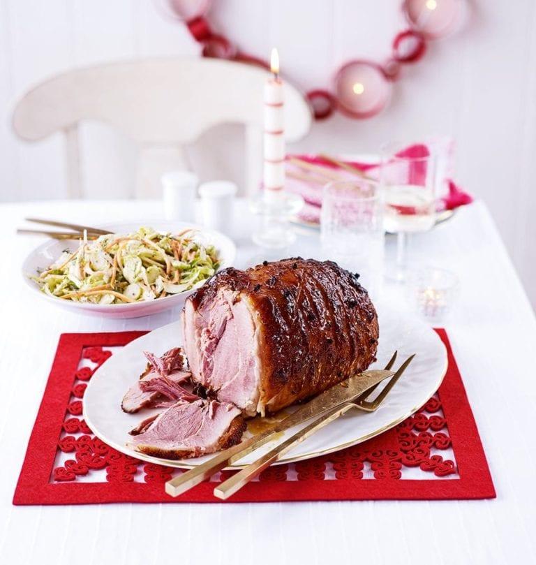Cola ham for Christmas
