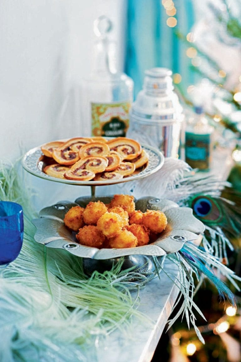 Sausage and sage palmiers