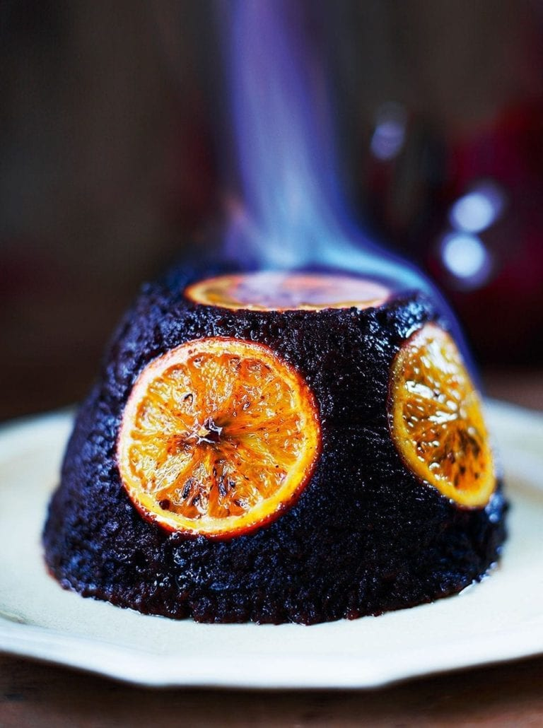 Chocolate orange pudding