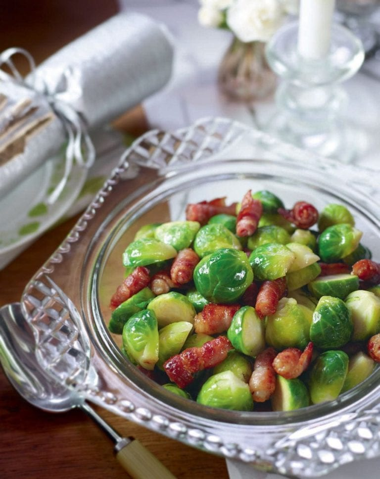 Brussel sprouts and bacon recipe
