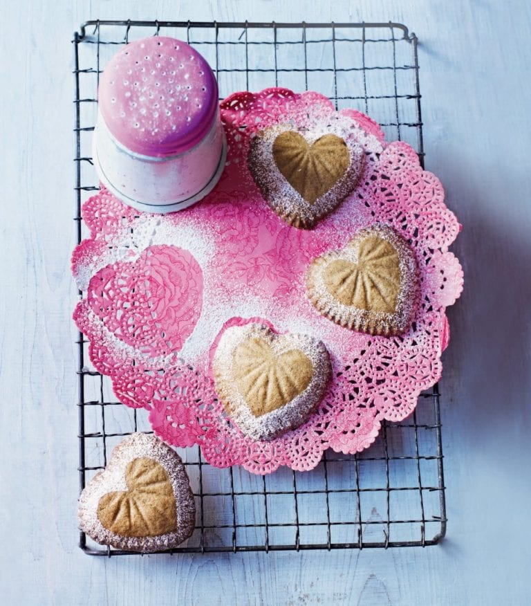 Spiced ginger biscuits