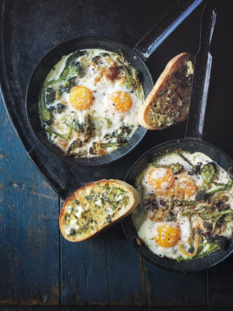 mediterranean diet broccoli egg recipe