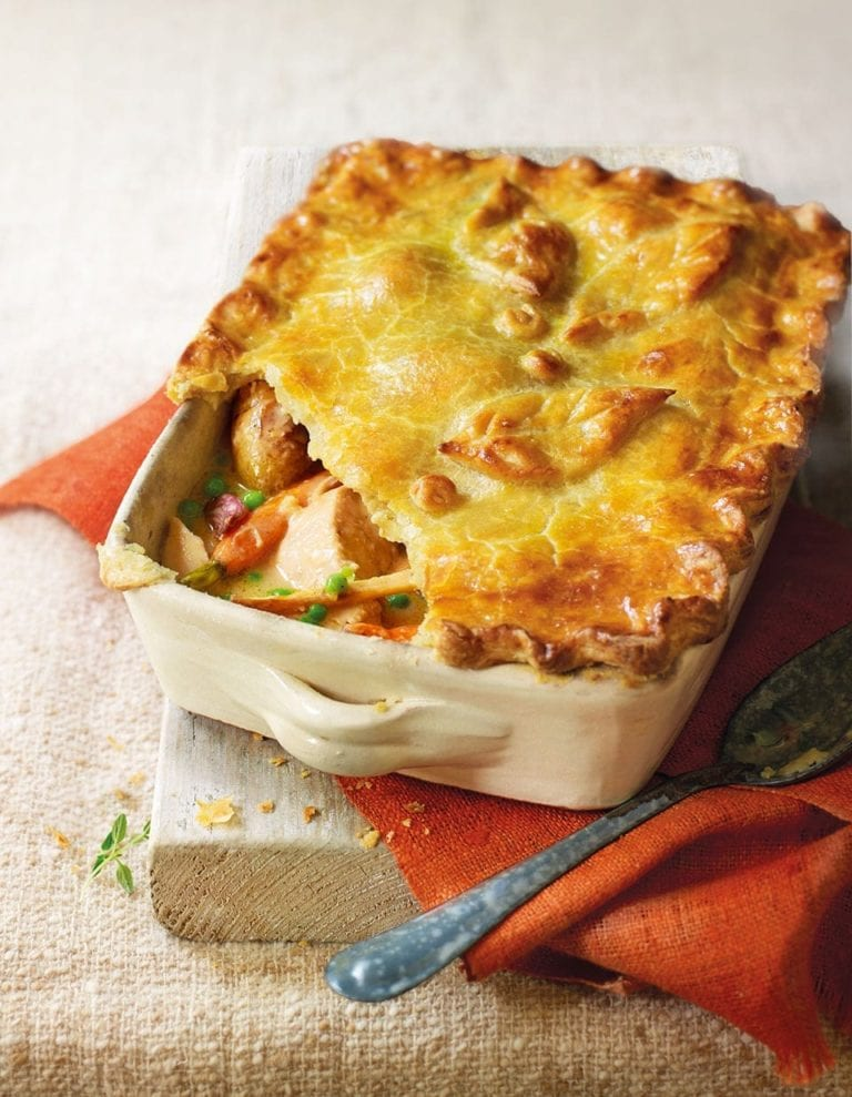 Sunday lunch chicken pie