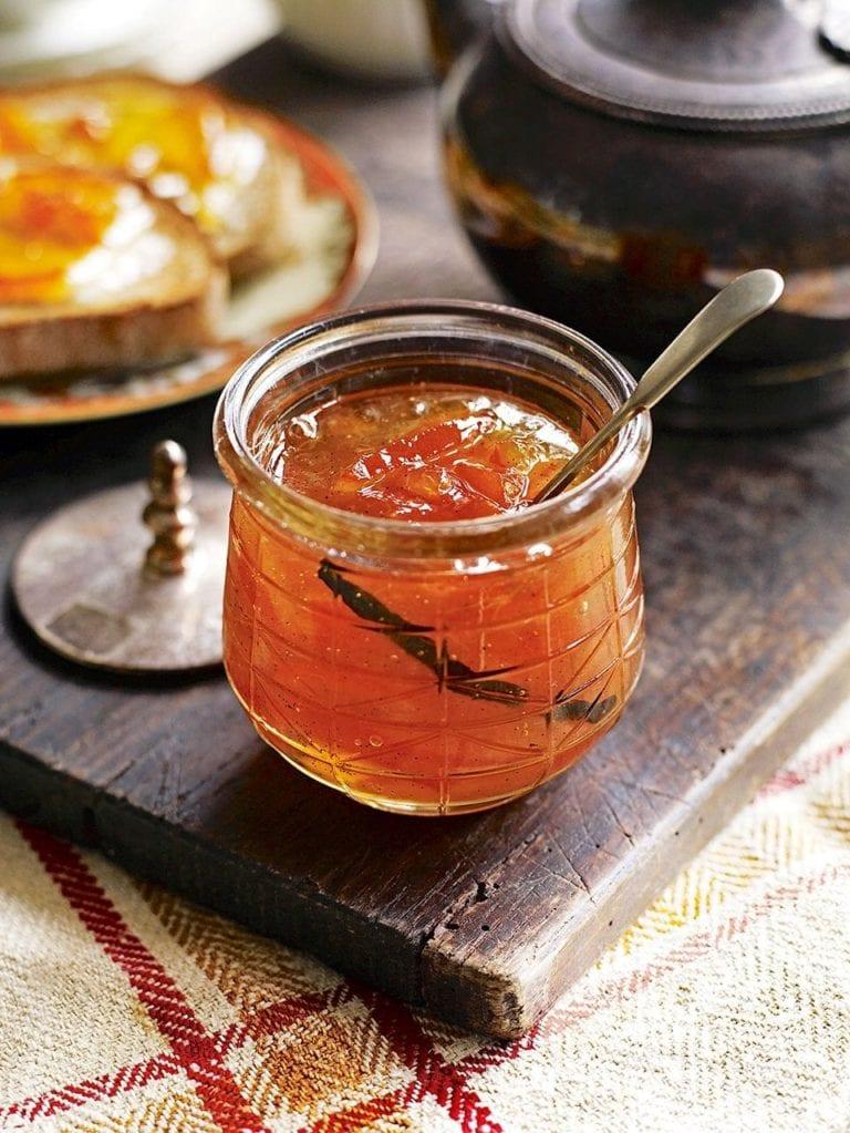 Seville orange and vanilla bean marmalade