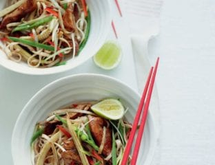 Five-spice chicken noodle stir-fry