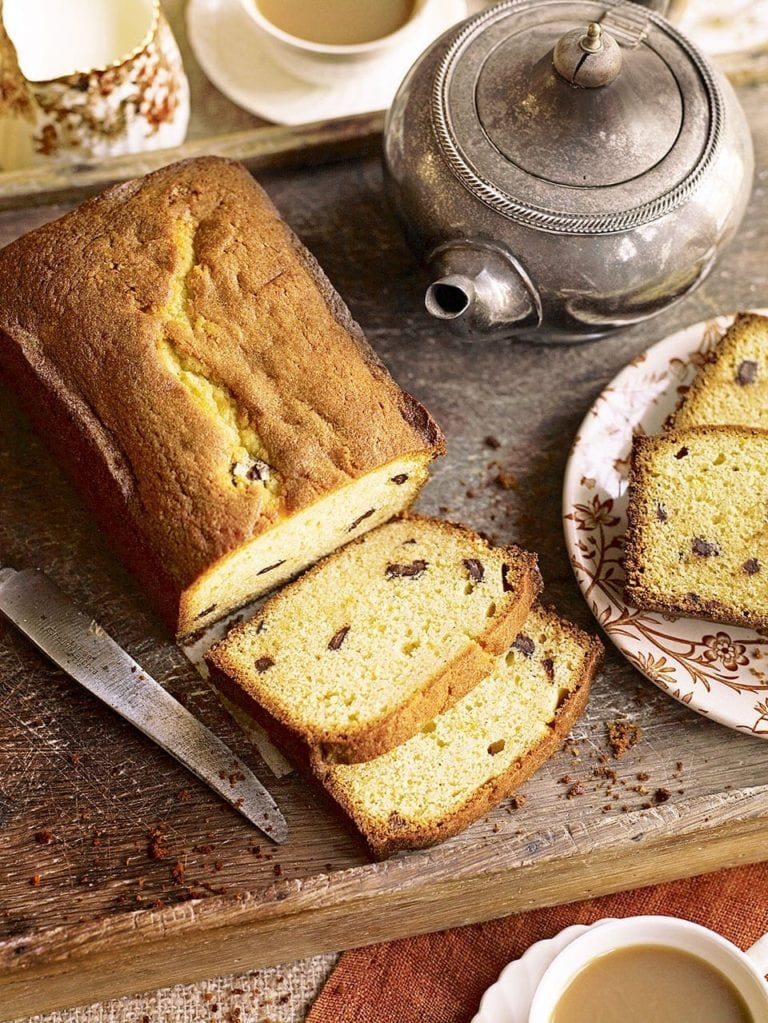 Chocolate orange tea loaf