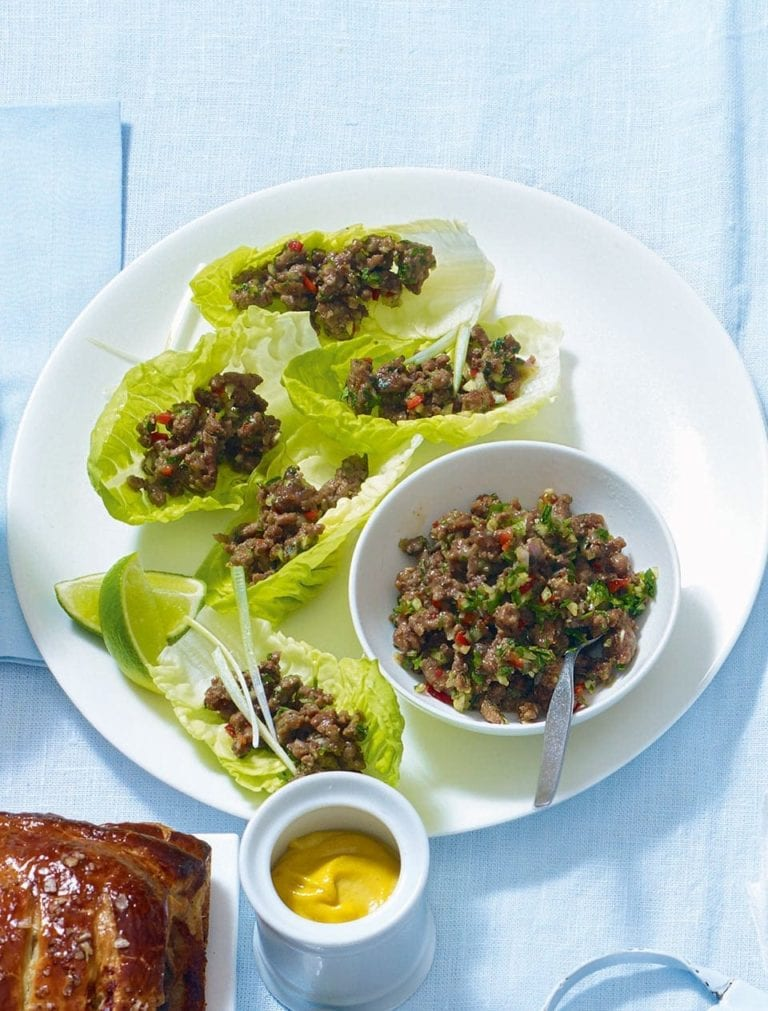 Spiced larb