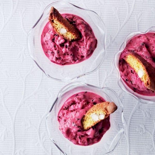 Instant frozen yogurt