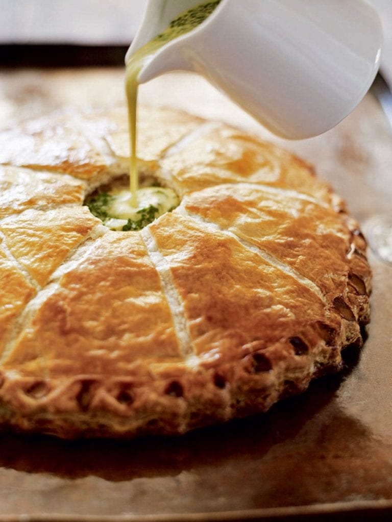 Limoges-style potato pie
