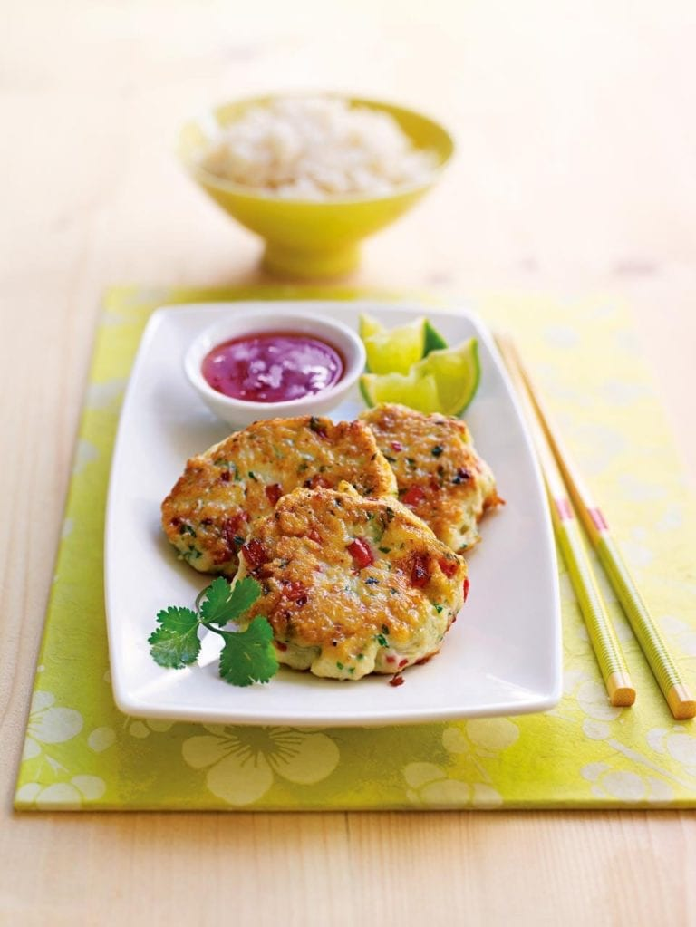 Budget Thai fishcakes