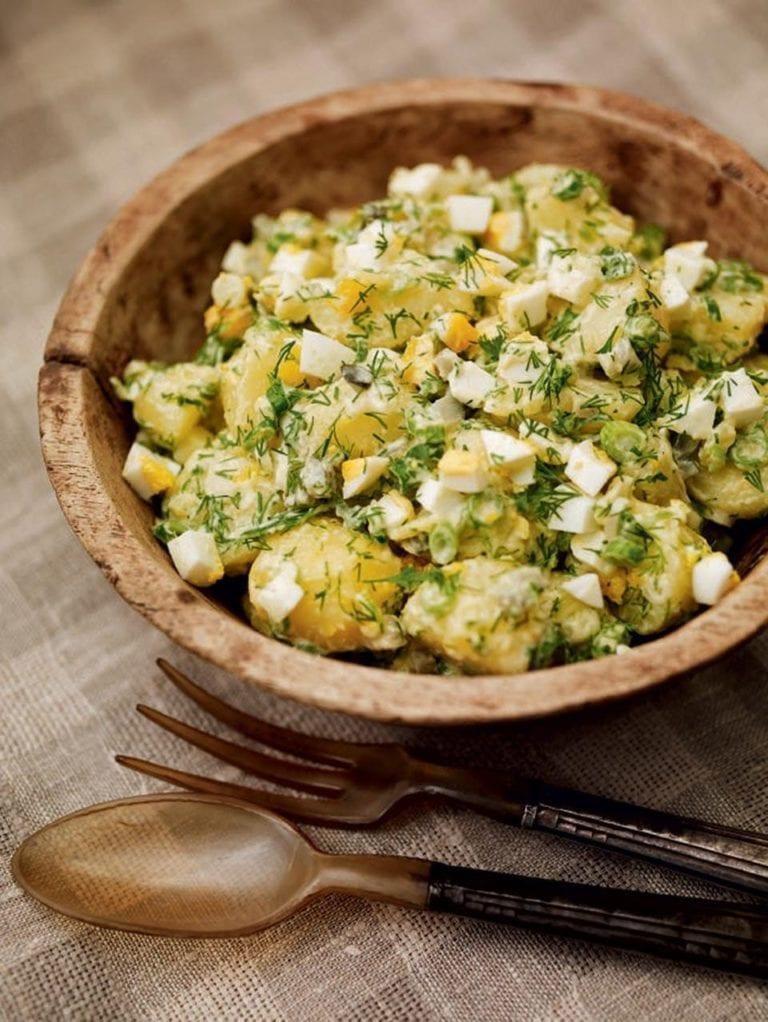 Classic new potato salad