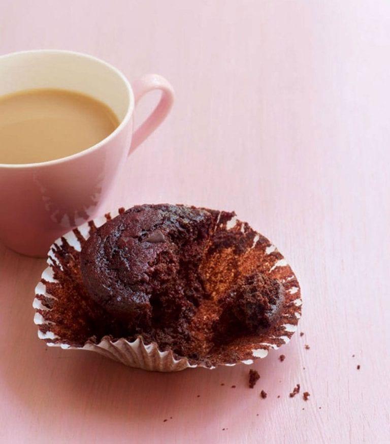 Skinny chocolate muffin