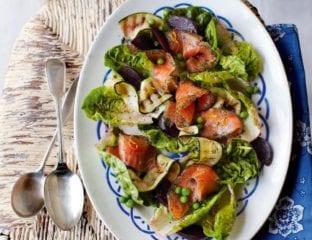 Gravadlax salad
