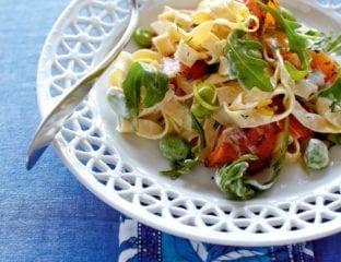 Gravadlax pasta