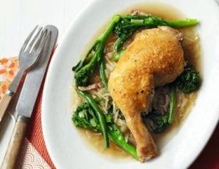 Summer chicken stew