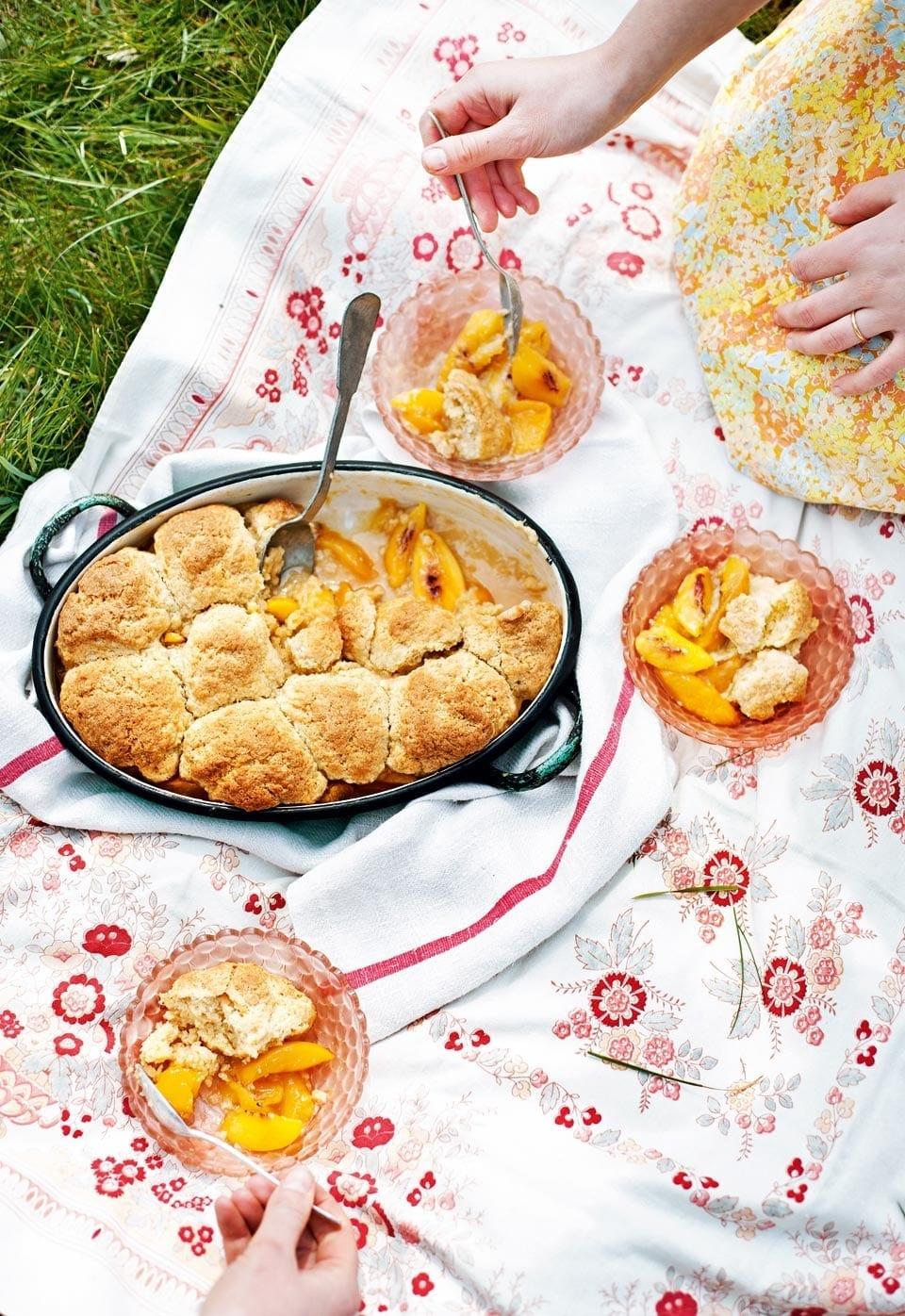 Georgia peach cobbler | delicious. magazine