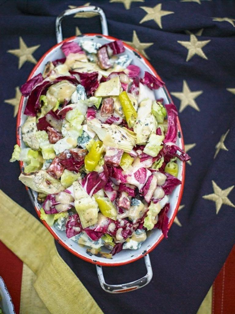 Italian-style chopped salad