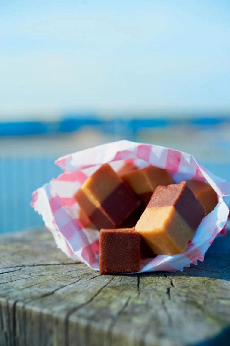 Chocolate-butterscotch fudge
