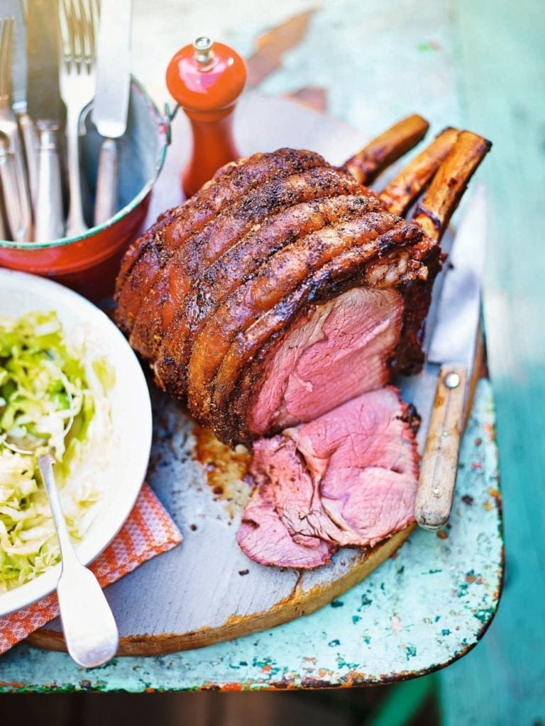 Texas-spiced prime rib of beef
