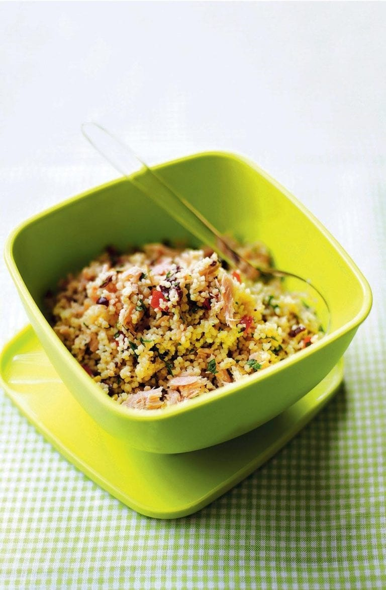 Couscous with tuna