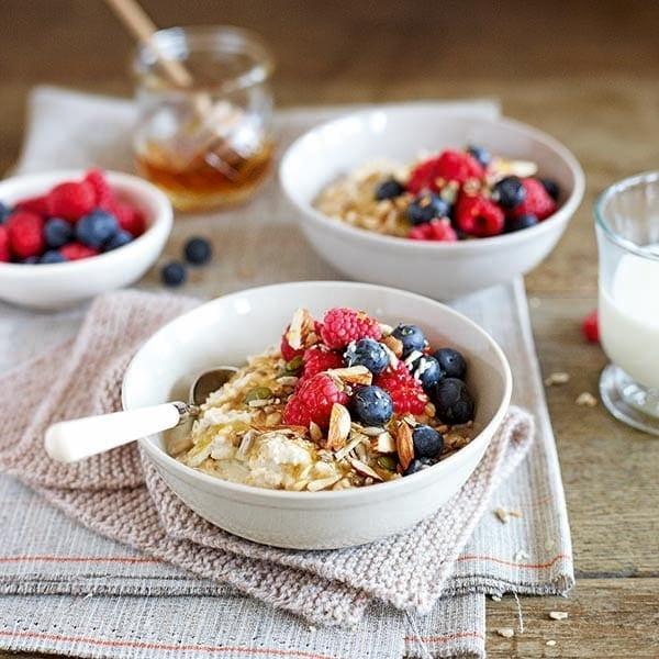 Bircher porridge