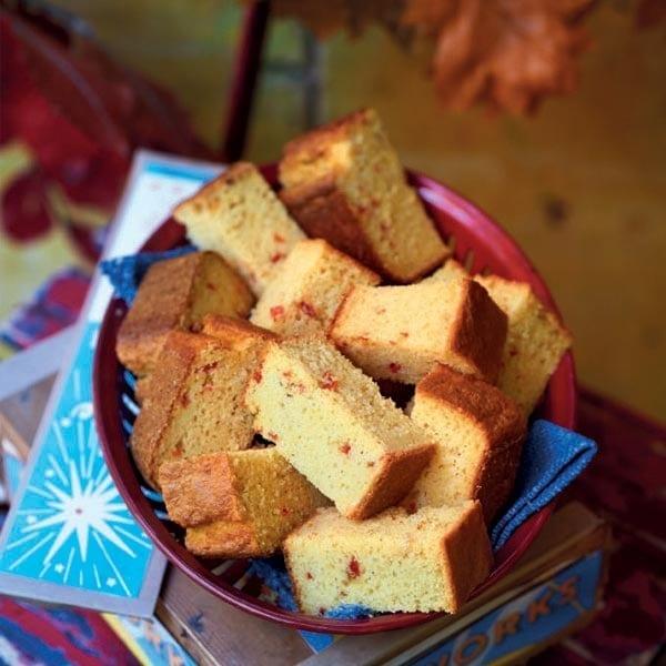 Chilli corn bread
