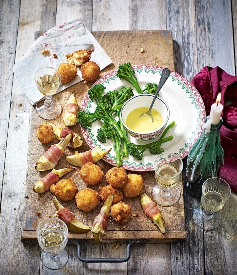Pickled pepper and sherry croquetas