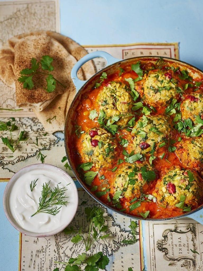 Sabrina Ghayour's Persian lamb meatballs