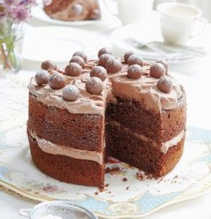 Chocolate and Malteser cake | delicious  magazine