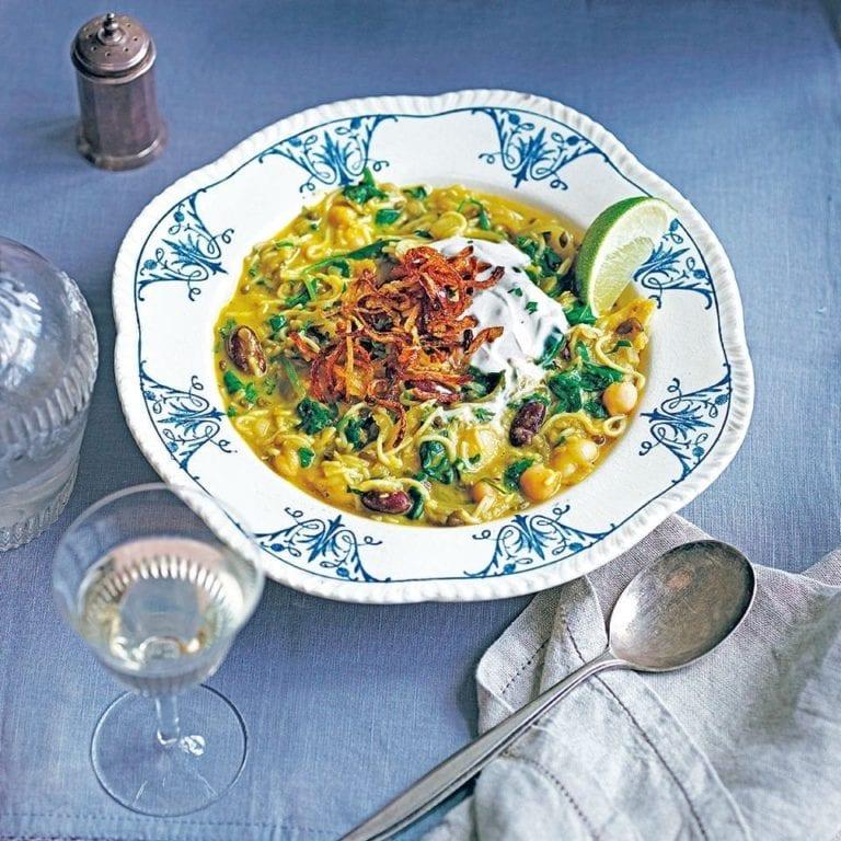 Persian pilgrim's soup