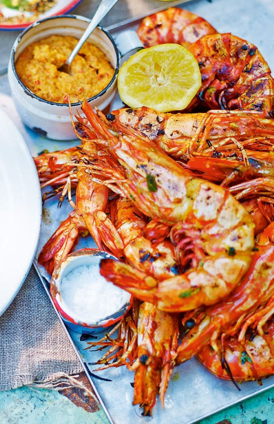 Giant Wild Prawns With Peanuts And Coconut Delicious Magazine