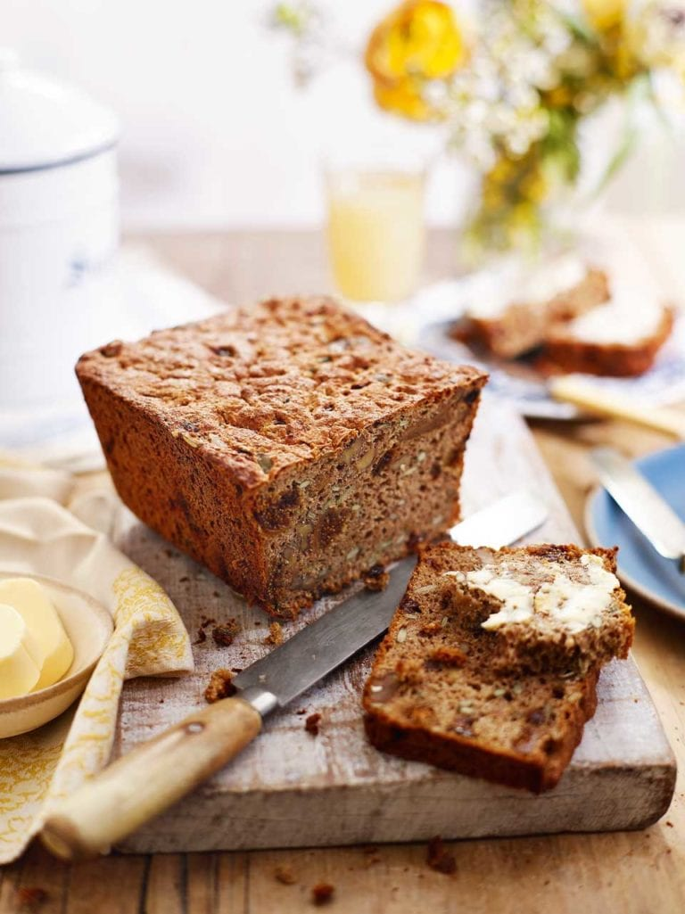 Fig and nut loaf