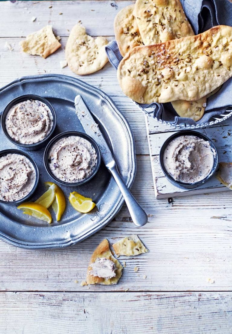 Clodagh Mckenna's smoked mackerel and dill pâté with fennel crispbreads