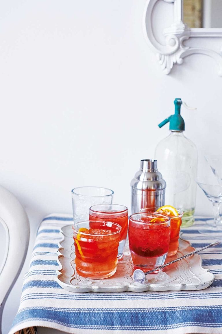 Campari whiskey cocktail