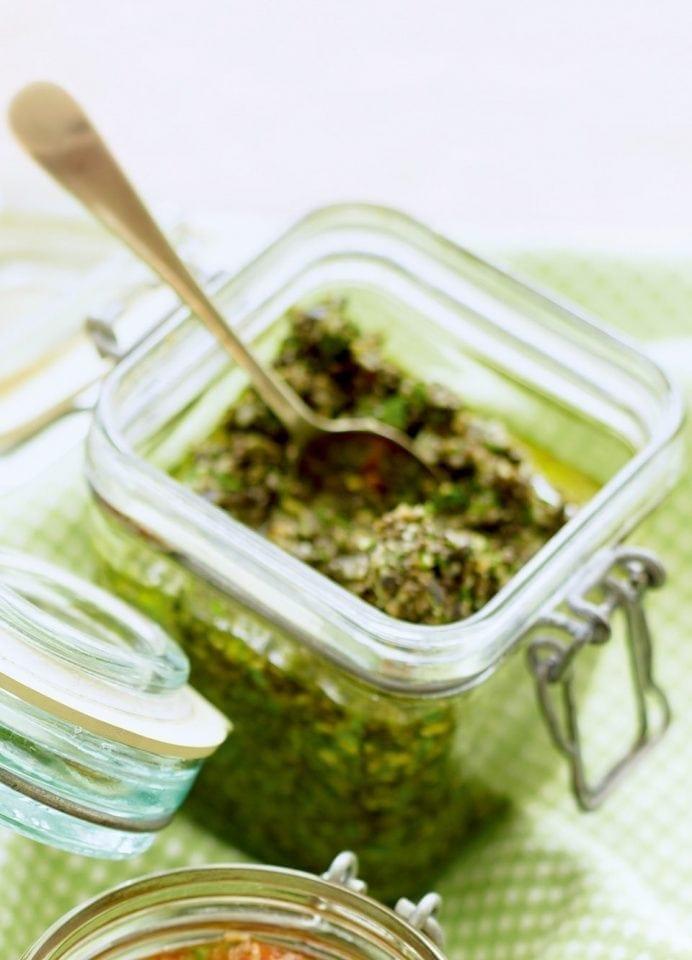 Olive pesto