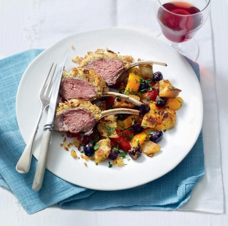 Recipe of the day. - Page 8 659236-1-eng-GB_rack-of-lamb-with-an-olive-crust-and-peperonata-salad-768x762