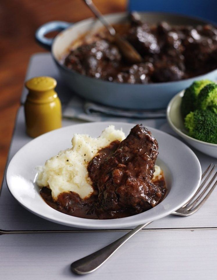 Rich ox cheek stew