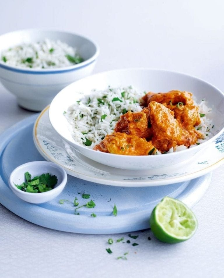 Quick chicken tikka