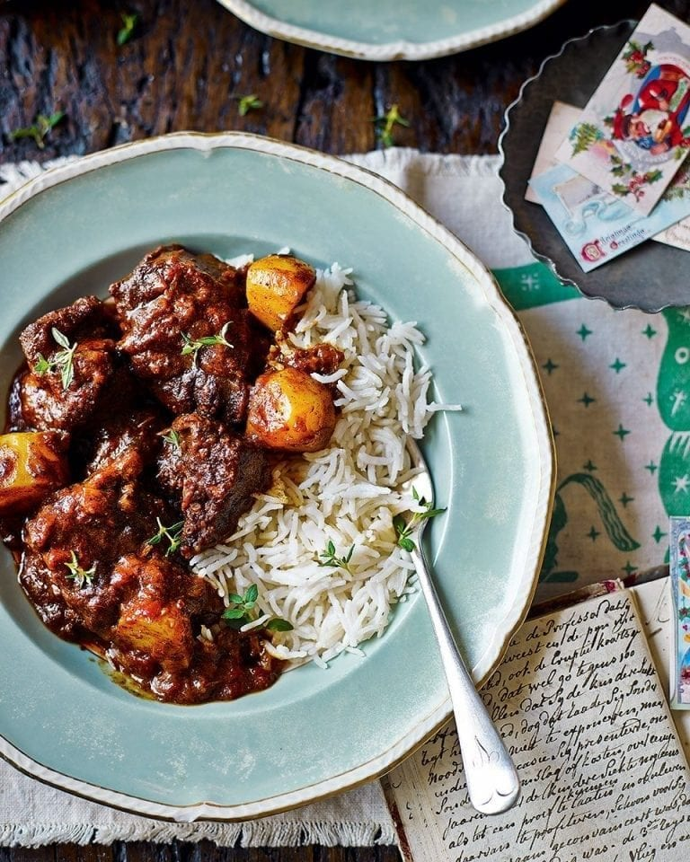 Braised coconut and chilli beef