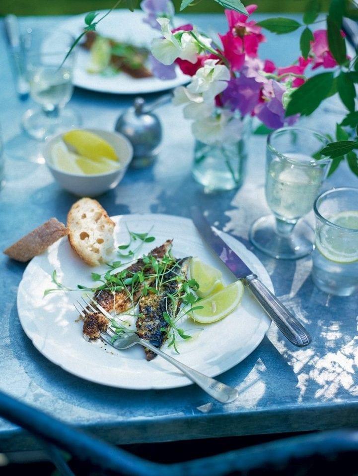 River Cottage merguez mackerel fillets