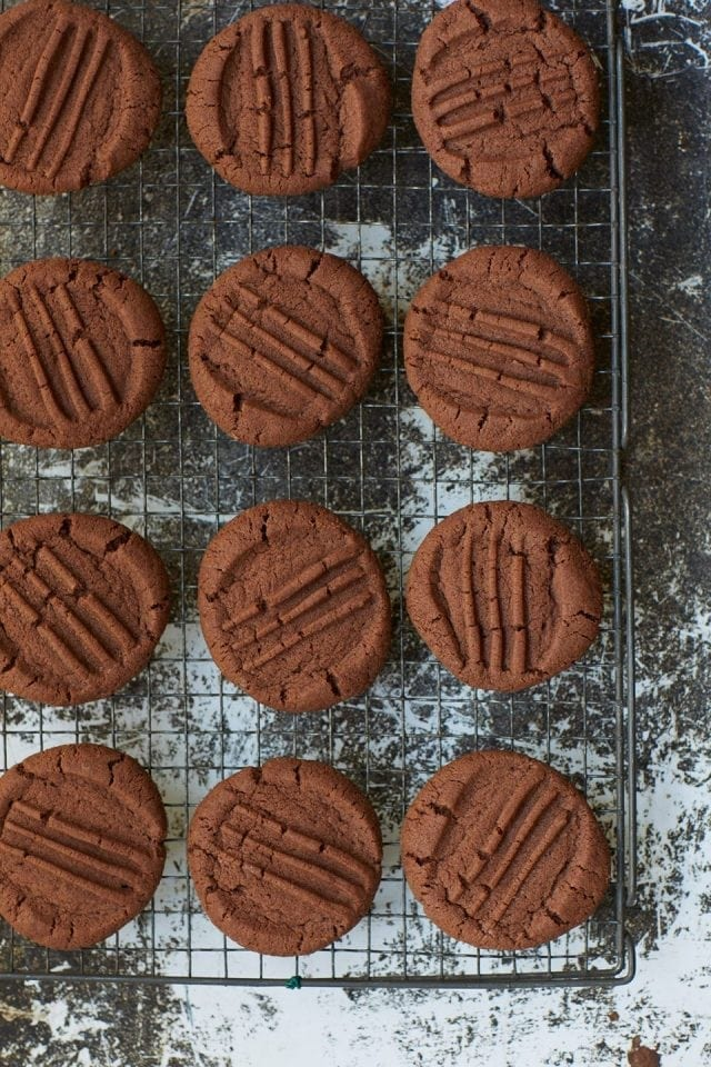 Nigella Lawson's chocolate biscuits