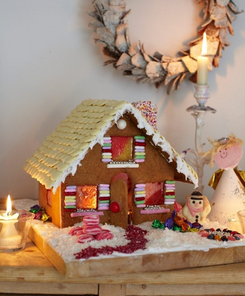 Easy Gingerbread House Delicious Magazine