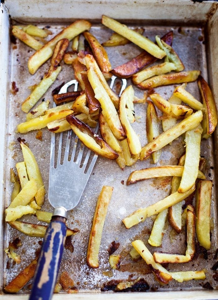 Beef-dripping oven chips