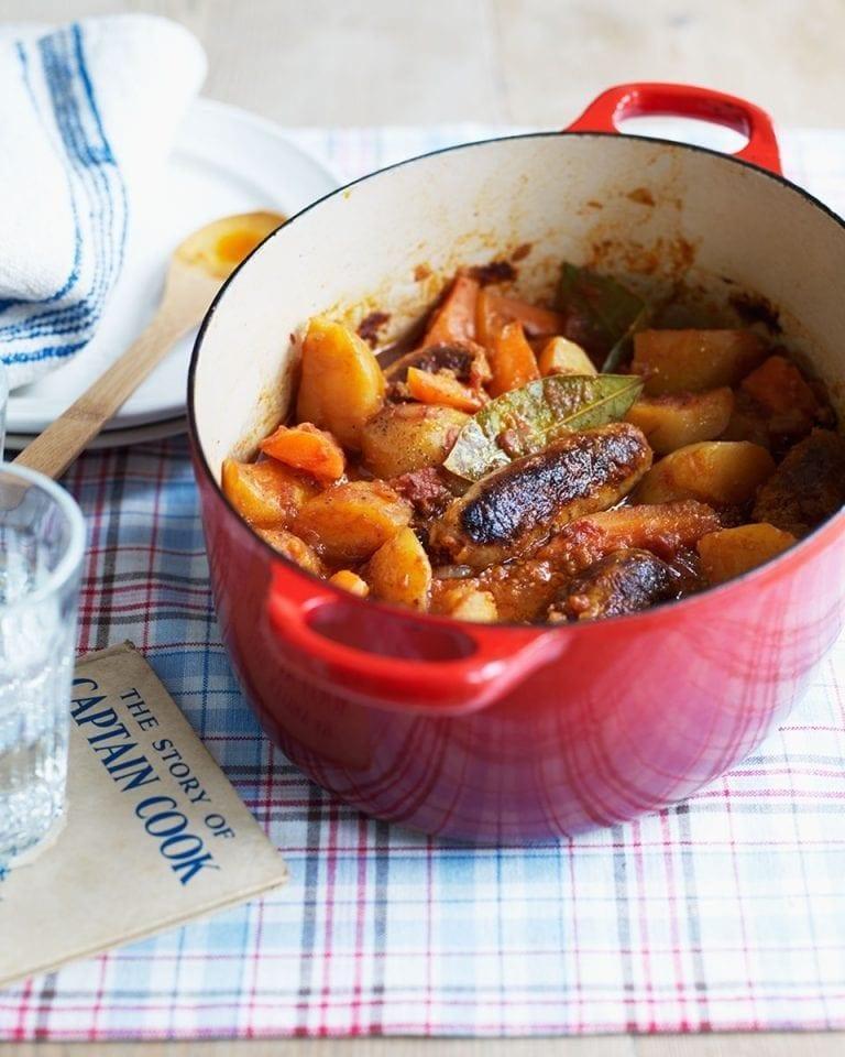 Easy sausage casserole