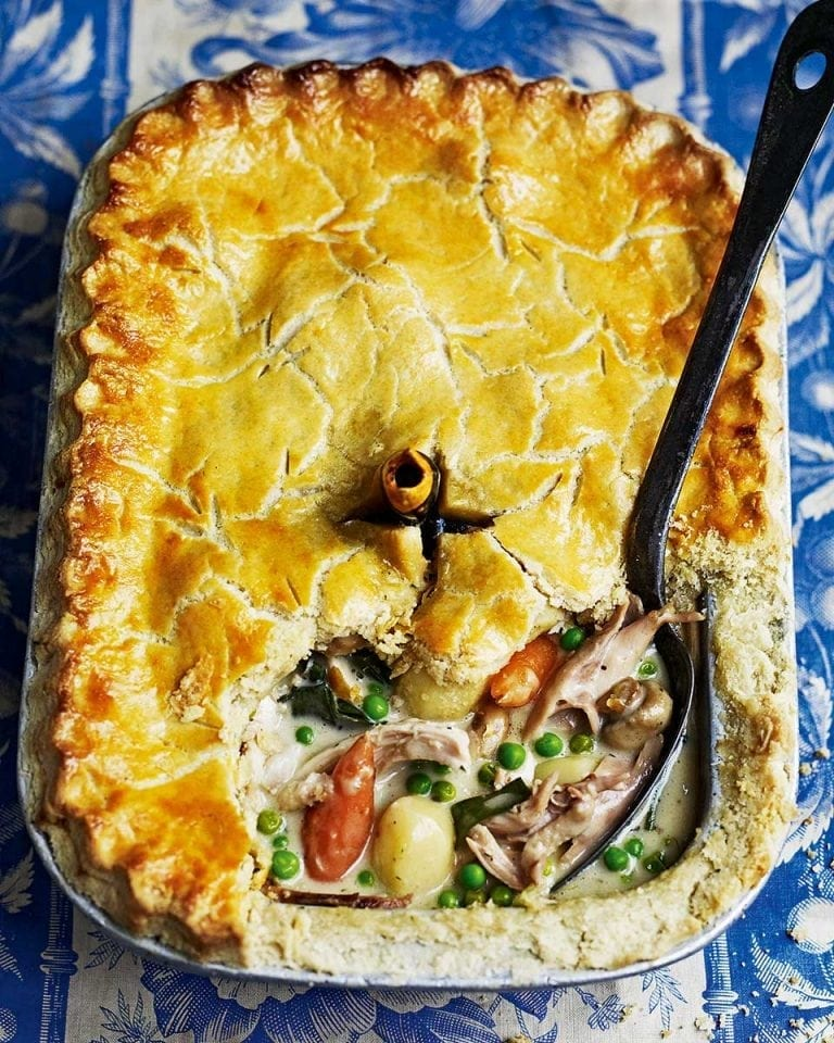 Chicken And Vegetable Pot Pie Delicious Magazine