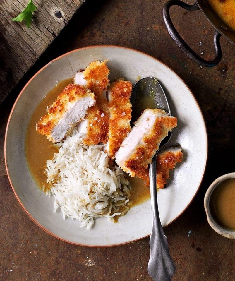Chicken katsu curry | delicious. magazine