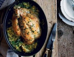 Pot roast chicken