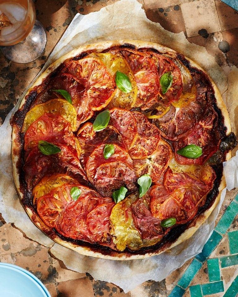 Image of tomato tart