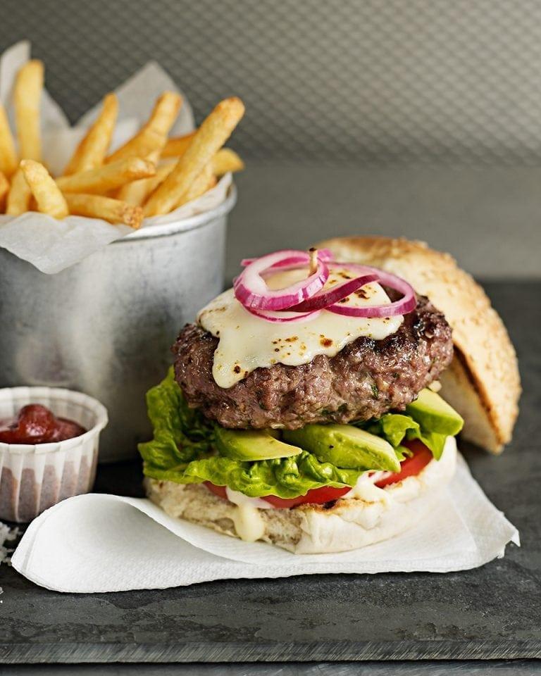The Ultimate Beef Burgers Recipe Delicious Magazine